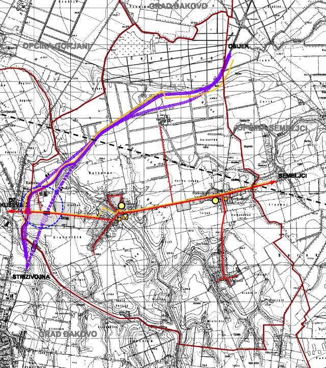 Prostorni plan uređenja Općine Viškovci II. izmjene i dopune - 2A Promet i TK